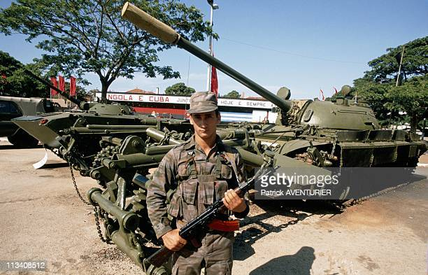 Withdrawal Of Cuban Troops From Angola On JanuaryIn Angola
