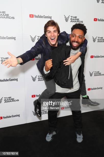 Witherspoon and Matt Pat attends The Game Awards 2018 - Arrivals at Microsoft Theater on December 06, 2018 in Los Angeles, California.