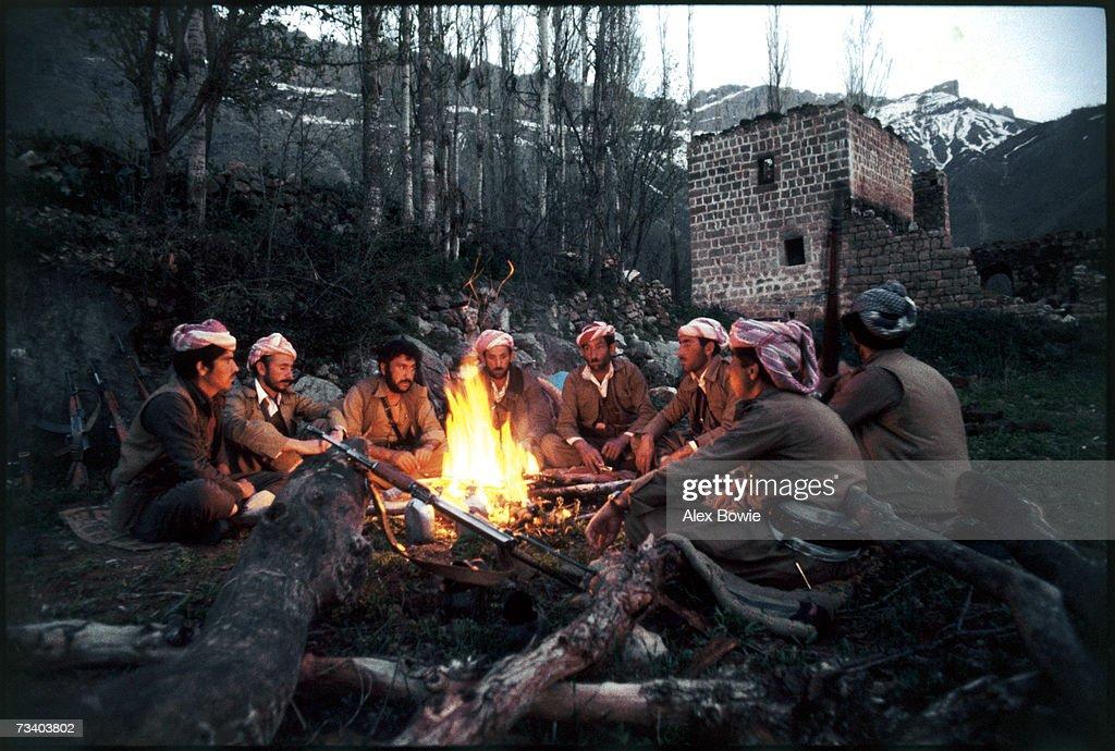 Kurdish Fighters : News Photo