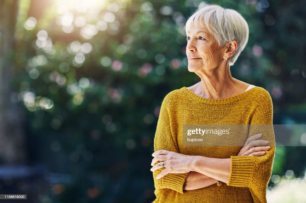 Without a worry in the world...how retirement should be : Stock Photo
