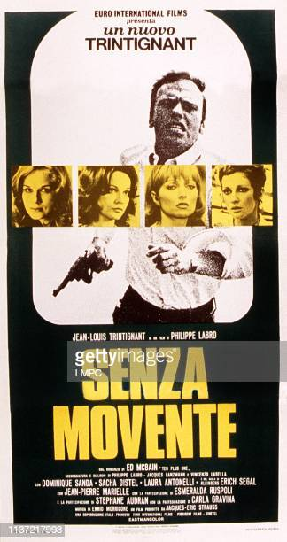 Without Apparent Motive, poster, , Italian poster, Jean-Louis Trintignant , front from left: Dominique Sanda, Laura Antonelli, Stephane Audran, Carla...