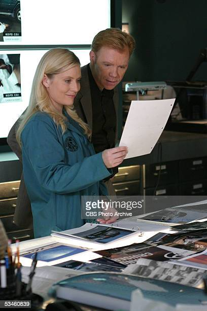 'Witness' Calleigh and Horatio work a case in which a disabled man is the only witness that can help the CSIs catch a killer on CSI MIAMI scheduled...
