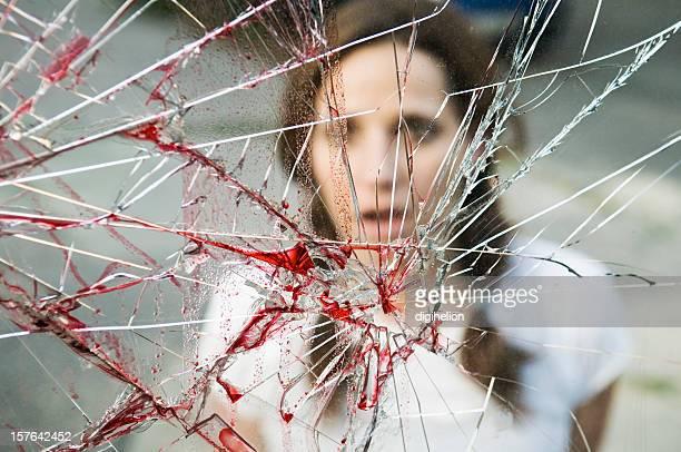 Testemunha de um acidente bloody
