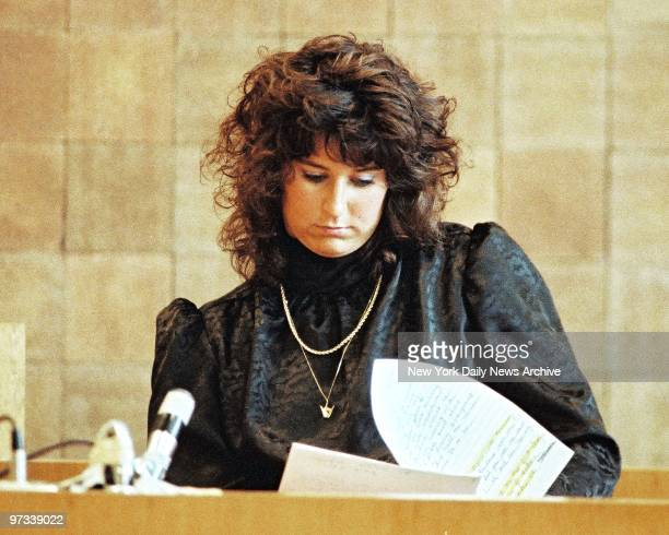 Witness Tammy Rogers also a teacher testifies at 'Fatal Attraction Trial' of Carolyn Warmus teacher who is accused of the murder of Betty Jean...