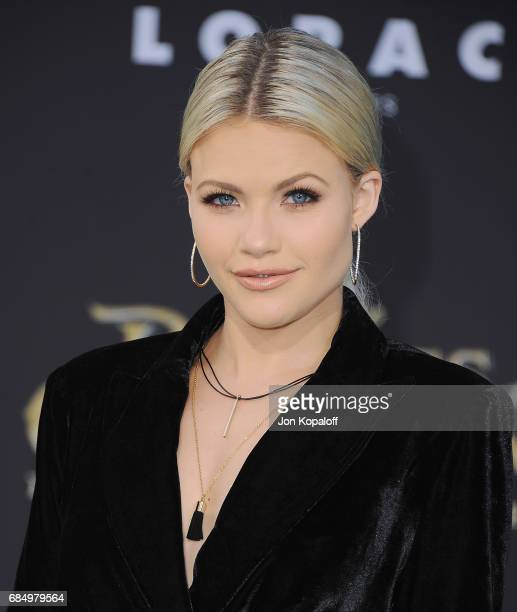 Witney Carson arrives at the Los Angeles Premiere Pirates Of The Caribbean Dead Men Tell No Tales at Dolby Theatre on May 18 2017 in Hollywood...