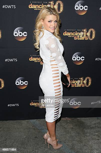 Witney Carson attends ABC's 'Dancing With The Stars' Season Premiere held at Hyde on March 16 2015 in Hollywood California