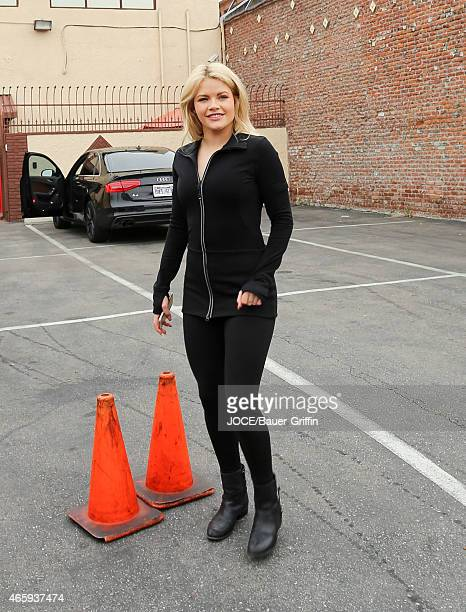 Witney Carson is seen in Hollywood on March 11 2015 in Los Angeles California