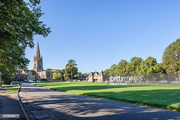 witney town green - oxfordshire stock pictures, royalty-free photos & images