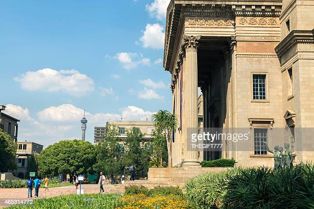 Wits University with Johannesburg city