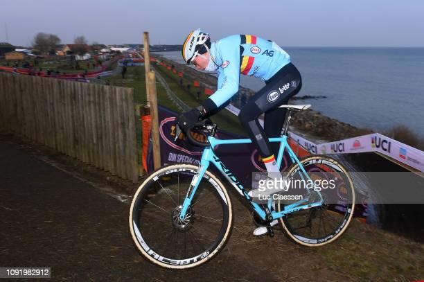 Witse Meeusen of Belgium and Team Belgium / during the 70th Cyclo-cross World Championships Bogense 2019 - Training / Cross Denmark / @Bogense2019 /...
