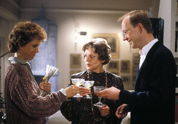 Witta Pohl, Grete Wurm, Hans-Peter Korff (v.l.n.r.), ZDF-Serie ...