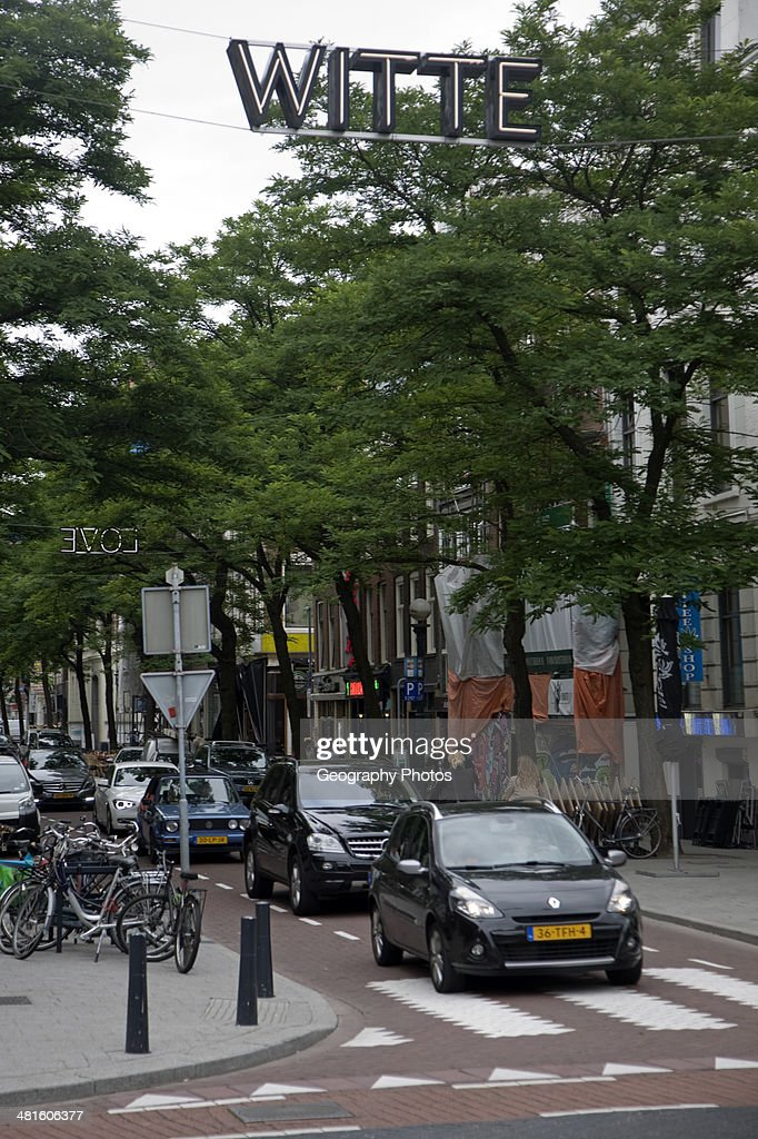 witte de withstraat is the main street central rotterdam