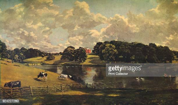 'Wivenhoe Park, Essex', 1816. The painting is part of the Widener Collection, National Gallery of Art, Washington DC. From Masterpieces of Painting,...