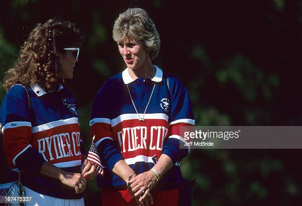 Wives during the 27th Ryder Cup held at Muirfield Village Golf Club in Dublin Ohio September 2527 1987