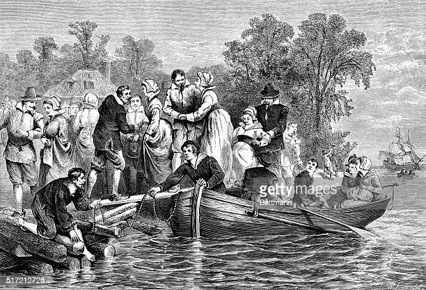 Wives of the settlers at Jamestown
