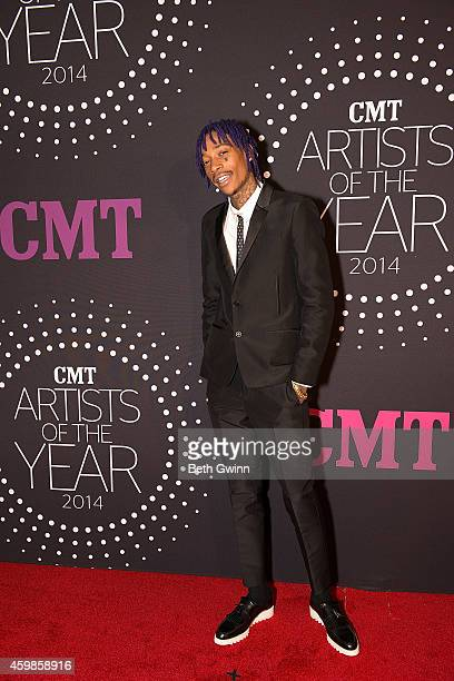 Wiz Khalifa attends 2014 CMT Artists Of The Year at Nashville Symphony Hall on December 2 2014 in Nashville Tennessee
