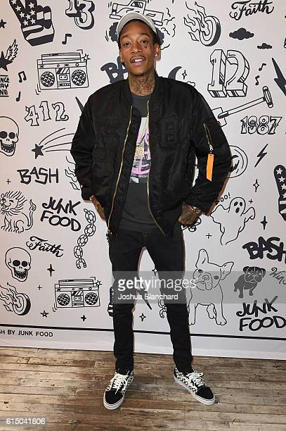 Wiz Khalifa attends BASH by Junk Food // Wiz Khalifa and Junk Food Clothing Capsule Launch on October 15 2016 in Venice California