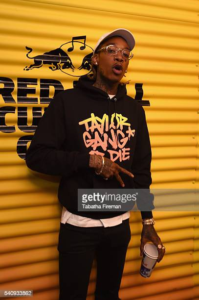 Wiz Khalifa attends Red Bull Culture Clash at the O2 Arena on June 17 2016 in London England
