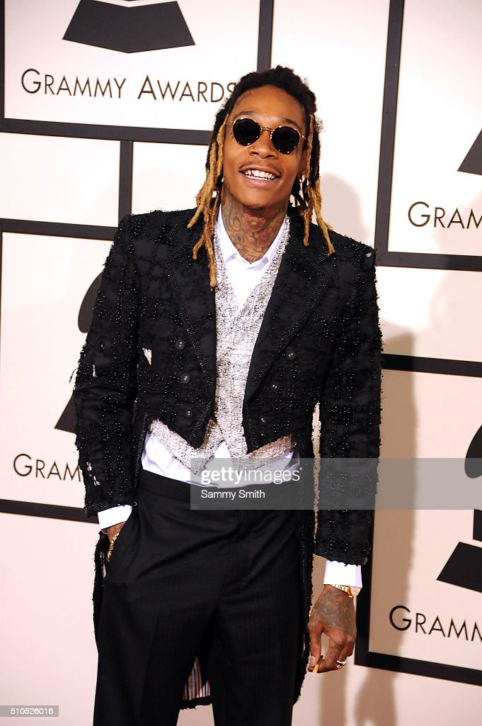 Wiz Khalifa attends the 58th GRAMMY Awards at Staples Center February 15, 2016 in Los Angeles, California.