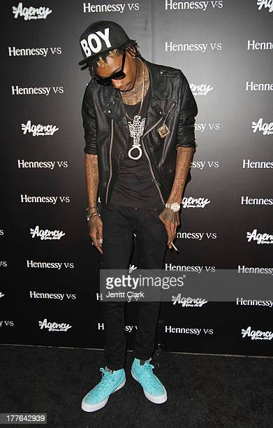 Wiz Khalifa attends the Hennessy VS VMA Celebration at Avenue on August 24 2013 in New York City