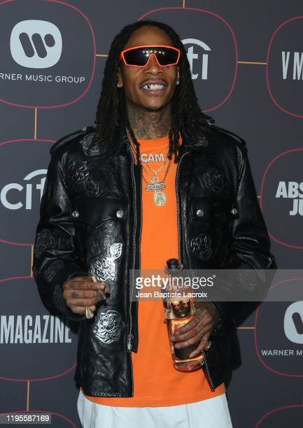 Wiz Khalifa attends the Warner Music Group Pre-Grammy Party at Hollywood Athletic Club on January 23, 2020 in Hollywood, California.