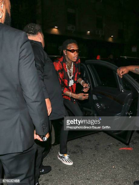 Wiz Khalifa is seen attending the Rei Kawakubo/Comme des Garcons Art Of The InBetween' Costume Institute Gala After Party on May 01 2017 in New York...