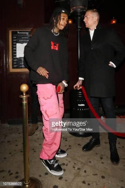 Wiz Khalifa is seen on December 27 2018 in Los Angeles CA
