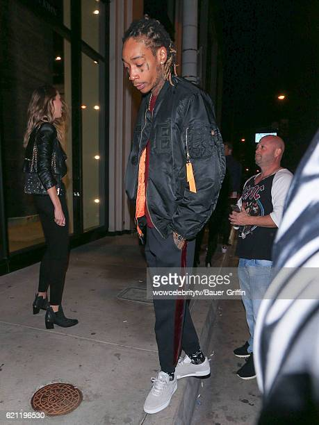 Wiz Khalifa is seen on November 05 2016 in Los Angeles California