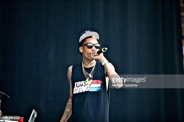 Wiz Khalifa performing at Bonnaroo 2011