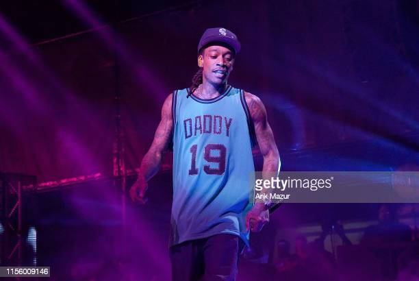 Wiz Khalifa performs at Northwell Health at Jones Beach Theater on July 16 2019 in Wantagh New York