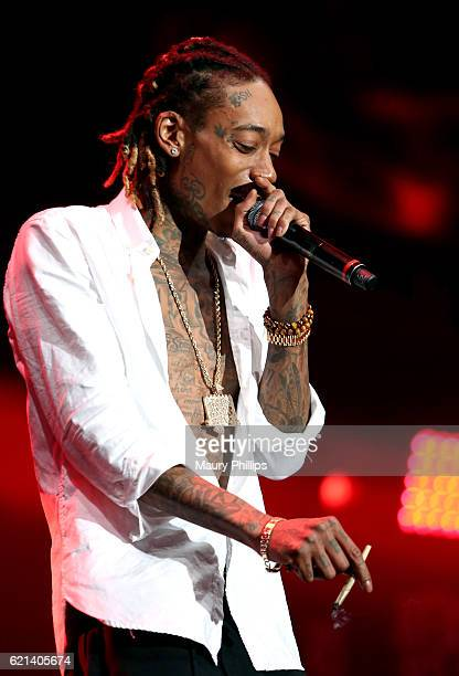 Wiz Khalifa performs at The Real Show hosted by Real 923 at The Forum on November 5 2016 in Inglewood California