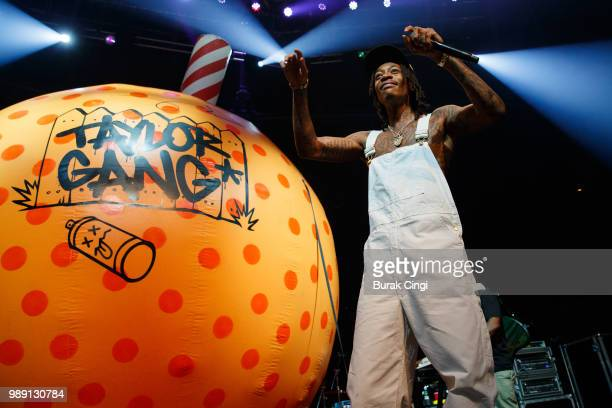 Wiz Khalifa performs at The Roundhouse on July 1 2018 in London England