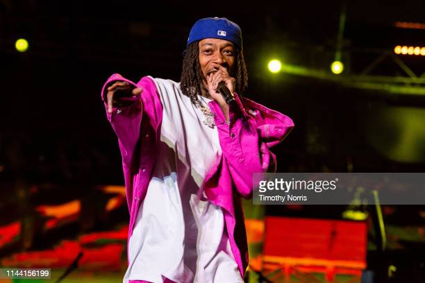 Wiz Khalifa performs during 2019 Coachella Valley Music And Arts Festival on April 20 2019 in Indio California