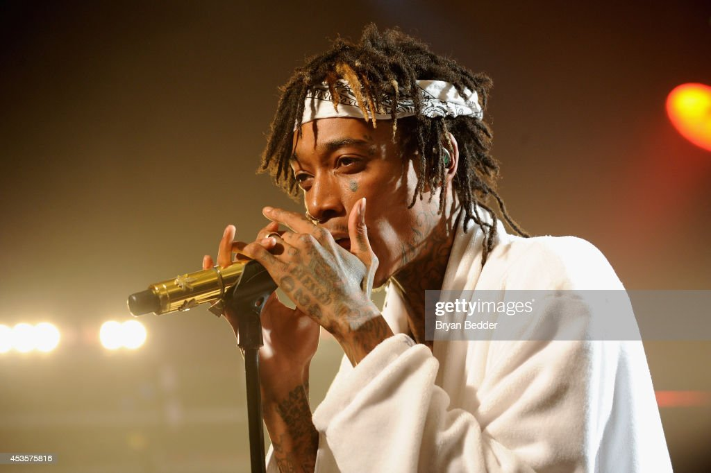 Wiz Khalifa Performs At The iHeartRadio Live P.C. Richard & Son Theater In New York City : News Photo