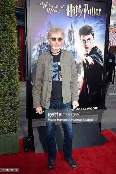 Wizarding World of Harry Potter Attraction Opening' -- Pictured: Actor Billy Bob Thornton arrives at the opening of the 'Wizarding World of Harry...