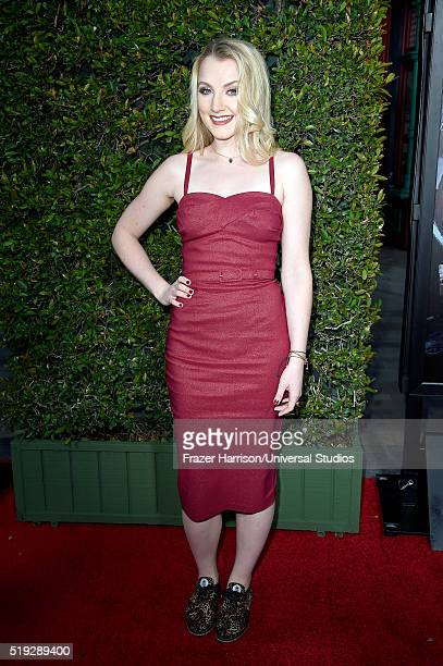 Wizarding World of Harry Potter Attraction Opening' -- Pictured: Actress Evanna Lynch arrives at the opening of the 'Wizarding World of Harry Potter'...