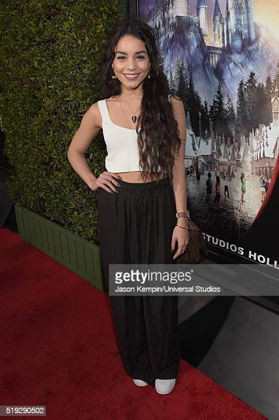 Wizarding World of Harry Potter Attraction Opening' -- Pictured: Actress Vanessa Hudgens arrives at the opening of the 'Wizarding World of Harry...