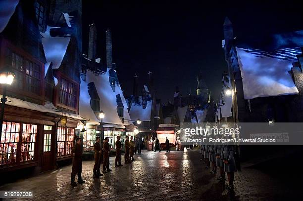 115 Hogsmeade Photos And Premium High Res Pictures Getty Images With memory charms to erase visitor's knowledge. 2