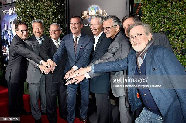 HOLLYWOOD 'Wizarding World of Harry Potter Attraction Opening' Pictured President Universal Studios Hollywood Larry Kurzweil chairman and CEO of...