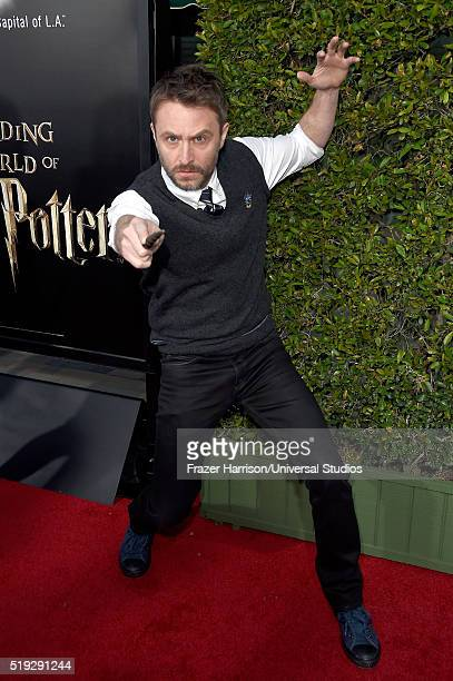 Wizarding World of Harry Potter Attraction Opening' -- Pictured: TV personality Chris Hardwick arrives at the opening of the 'Wizarding World of...