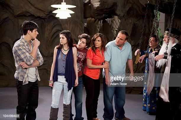 PLACE 'Wizards Exposed' The Russo family is taken into custody by a secret government agency which suspects they're wizards After escaping the family...