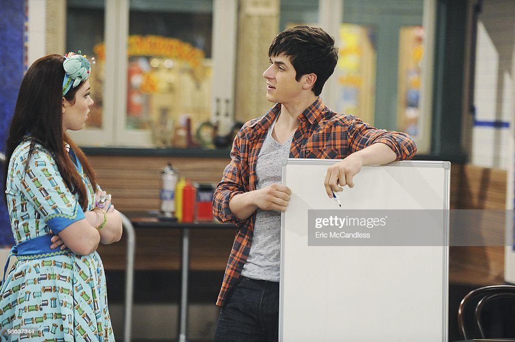 PLACE - 'Wizards vs. Werewolves' - A climactic adventure-filled one-hour episode of the Emmy Award-winning comedy series 'Wizards of Waverly Place' will premiere FRIDAY, JANUARY 22 (8:00-9:00 p.m., ET/PT) on Disney Channel. Guest stars Bridgit Mendler ('Good Luck Charlie') and Gregg Sulkin (Disney Channel UK's 'As The Bell Rings') reprise their roles as Justin's vampire girlfriend Juliet Van Heusen (who's recently disappeared after being turned into a mummy's minion) and Alex's new boyfriend, Mason, in a top-secret storyline, entitled 'Wizards vs. Werewolves,' that's bound to be the talk among the kid and tween set. (Photo by Eric McCandless/Disney Channel via Getty Images) JENNIFER