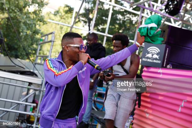 Wizkid performs at the Red Bull Music Academy Soundsystem at Notting Hill Carnival 2017 on August 27 2017 in London England