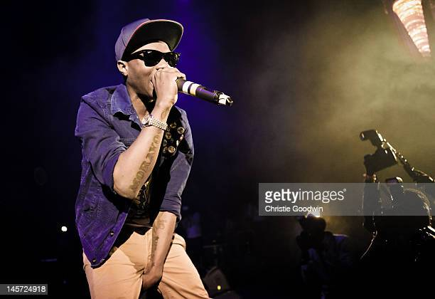 Wizkid performs on stage at HMV Hammersmith Apollo on June 4 2012 in London United Kingdom