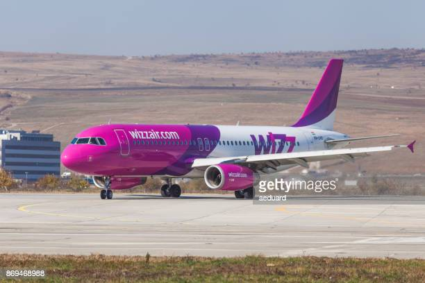 Wizz Air Airbus A320 232 taxiing on runway