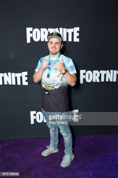 Wizzite attends the Epic Games Hosts Fortnite Party Royale on June 12 2018 in Los Angeles California