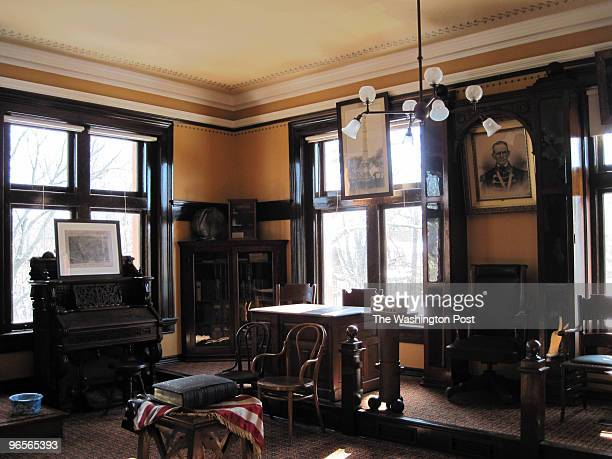 153044337 CREDIT Becky Krystal/STAFF/TWP LOCATION Carnegie PA USA CAPTION The Andrew Carnegie Free Library Music Hall recently restored a room where...