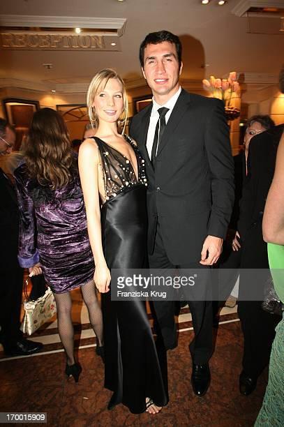 Wladimir Klitschko and Sarah Brandner In The Party After The German Film Ball in the Hotel Bayerischer Hof in Munich