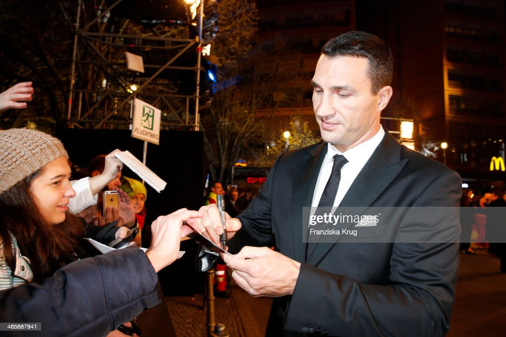 Wladimir Klitschko attends the Bambi Awards 2013 at Stage Theater on November 14, 2013 in Berlin, Germany.
