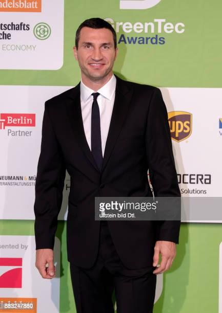 Wladimir Klitschko auf den GreenTec Awards 2015 im Velodrom Berlin am